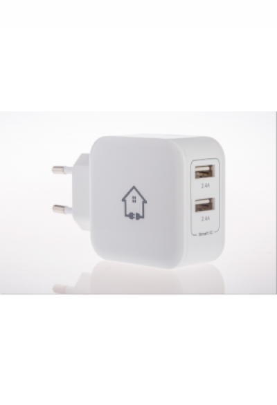 kabelhuus® 24W Dual USB Smart Ladegerä..