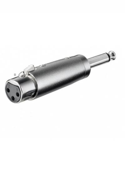 XLR- Adapter - XLR-Buchse (3-Pin) > Kl..