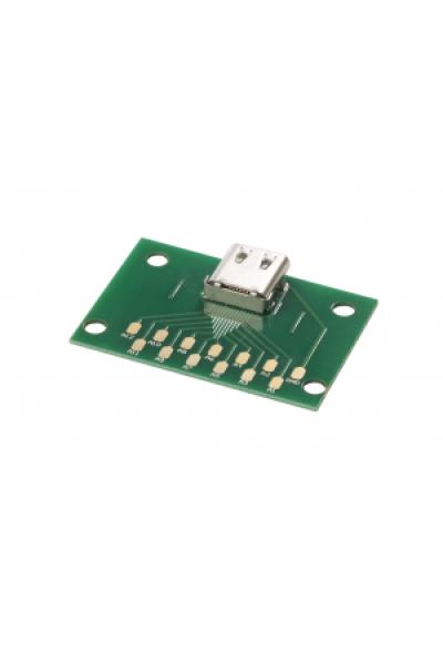 Standard USB C Buchse mit PCB